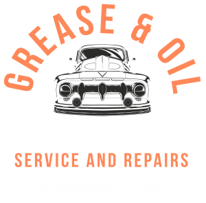 Grease and Oil mechanic wollongong logo